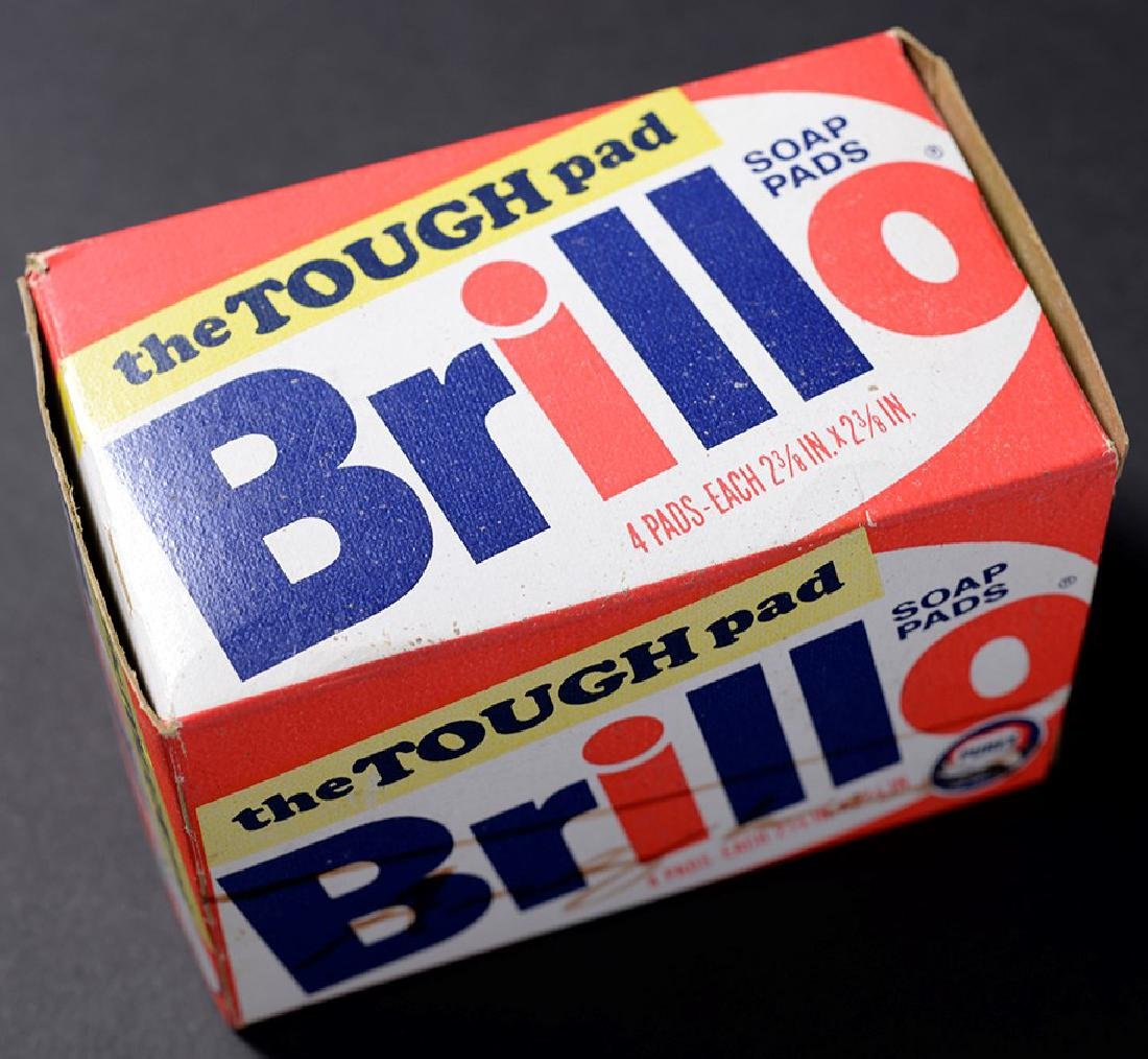 Brillo Box Signed by Andy Warhol - 4