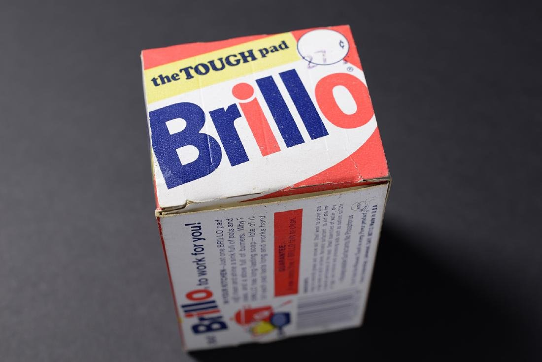 Brillo Box Signed by Andy Warhol - 5