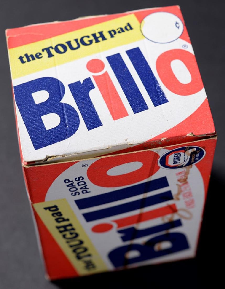 Brillo Box Signed by Andy Warhol - 6