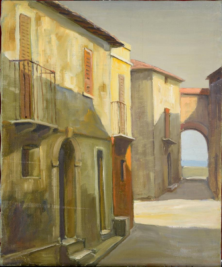 Camillo Cocchetti 1922-2010 Oil on Canvas