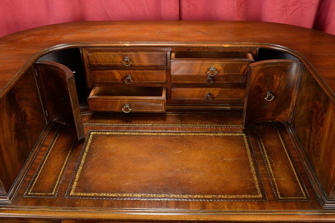Antique Curved Weiman Desk