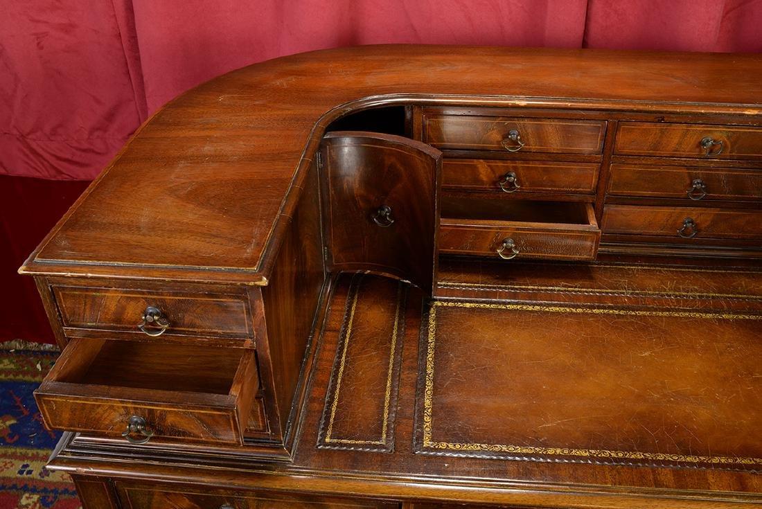 Antique Curved Weiman Desk - 2