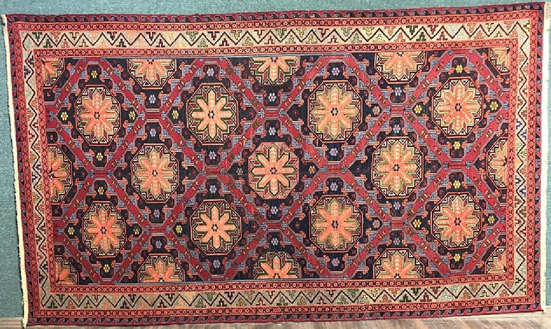 Antique Kilim Sumak Carpet