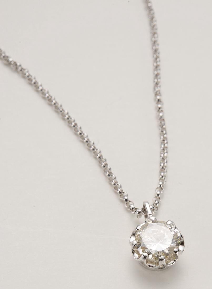 Diamond Pendant Necklace 18 Carat Gold