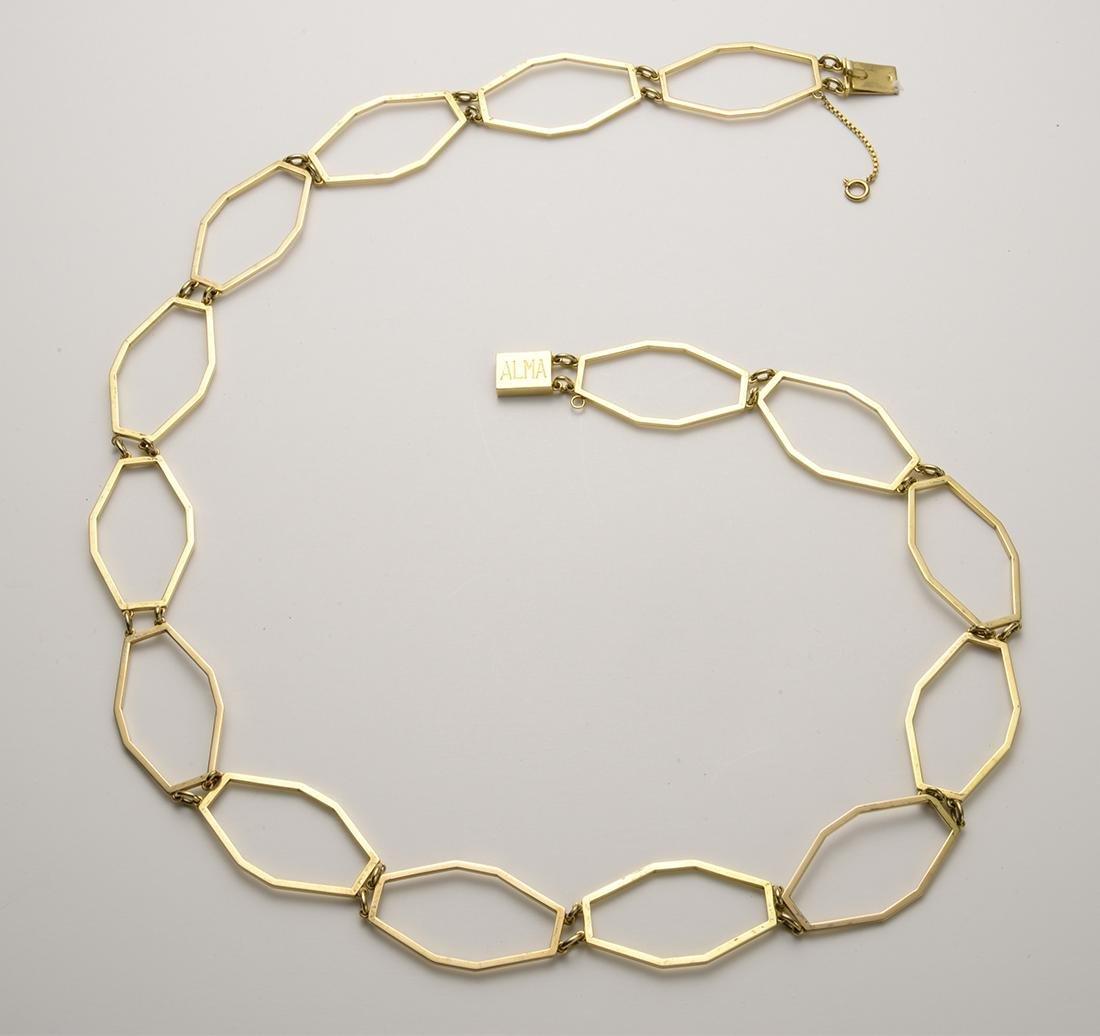 Gold Chain Belt, Alma Italy