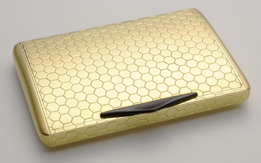 18 carat Gold Box, Made in Italy