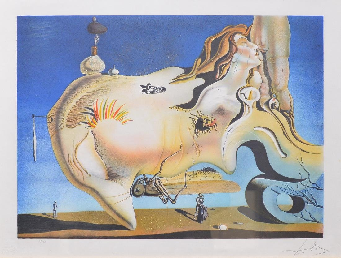 Salvador Dali, 1929, The Great Masturbator