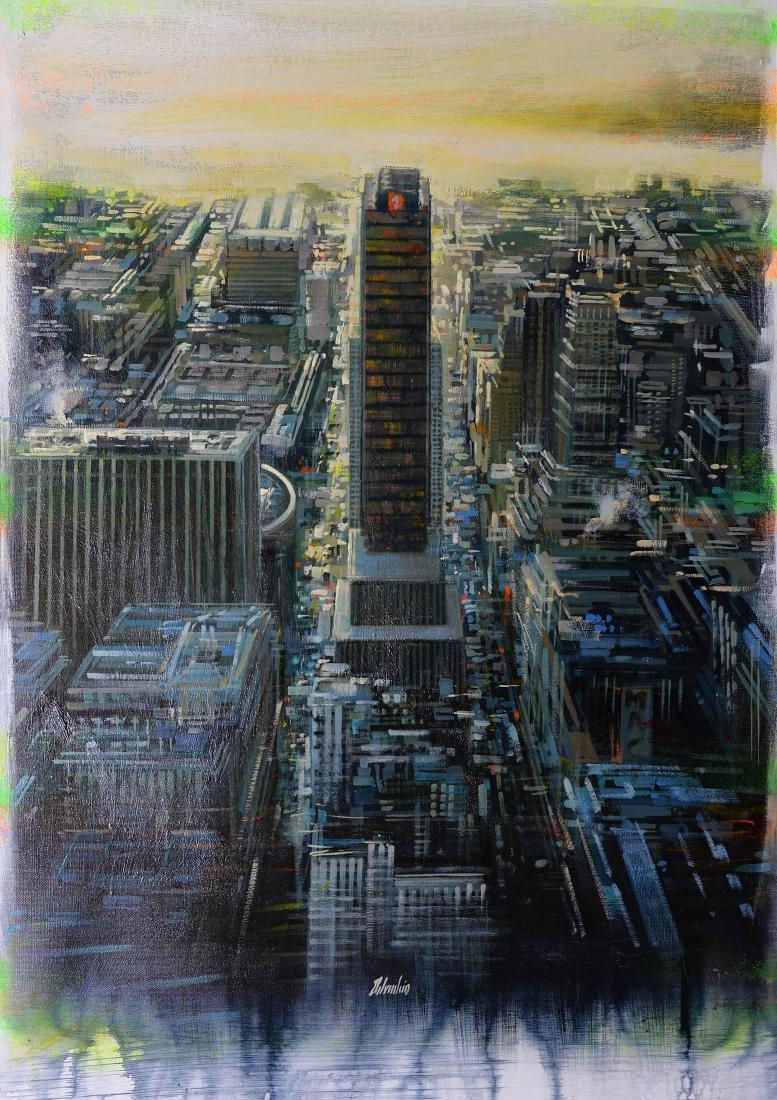 """Maurizio Delvecchio, 2015, """"Dawn in New York"""""""