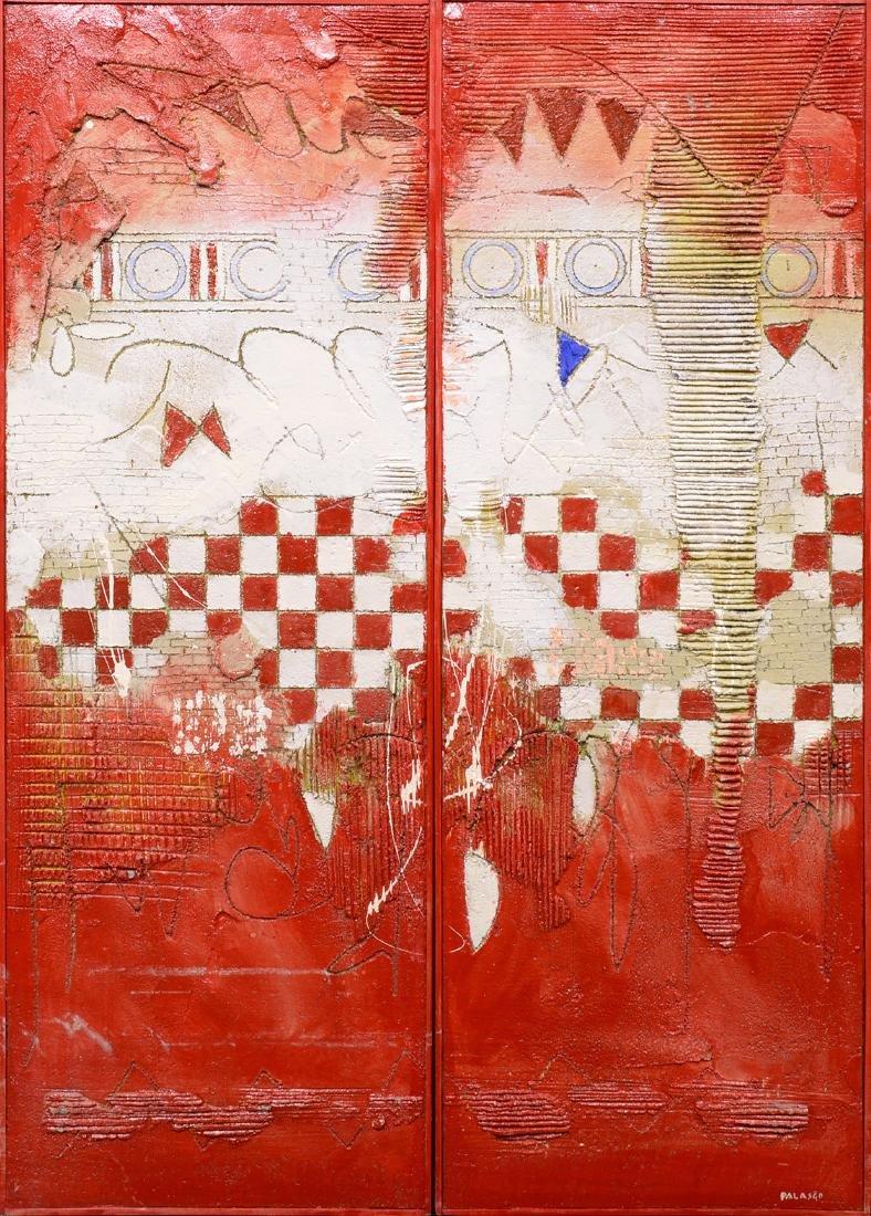 "Diego Palasgo, 1994,"" La Casa Rosa"""