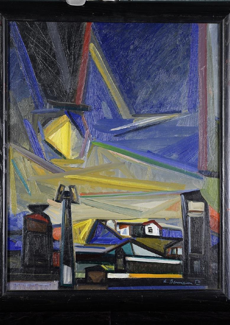 Karl Hermann Baumann, American, 1911 - 1984 Night