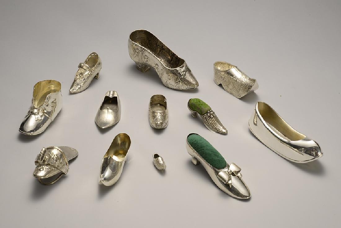 Sterling Silver Shoe Lot