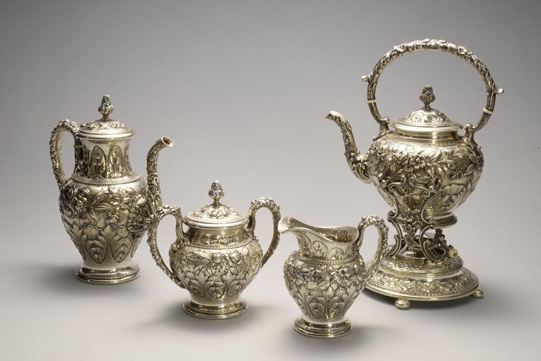 Kirk & Son Silver Tea Set