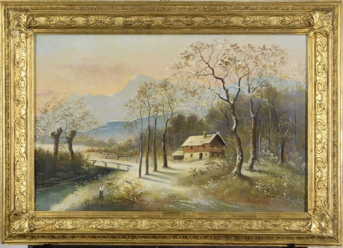 B. Foresti, Italian School, Landscape