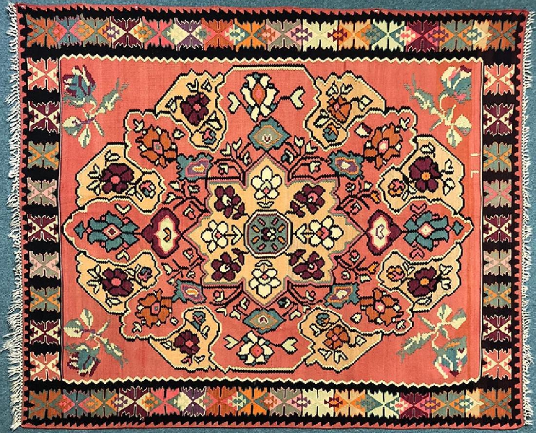 """Karabakh Kilim Carpet 100.25"""" x 85"""""""