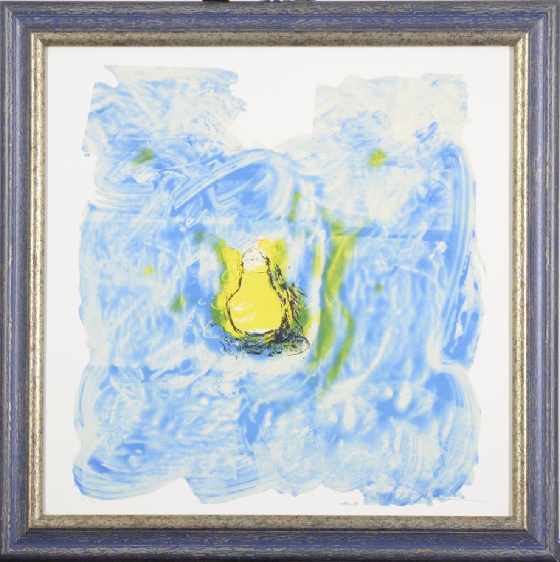 Mario Schifano,(1934-1998) Lithograph on Paper