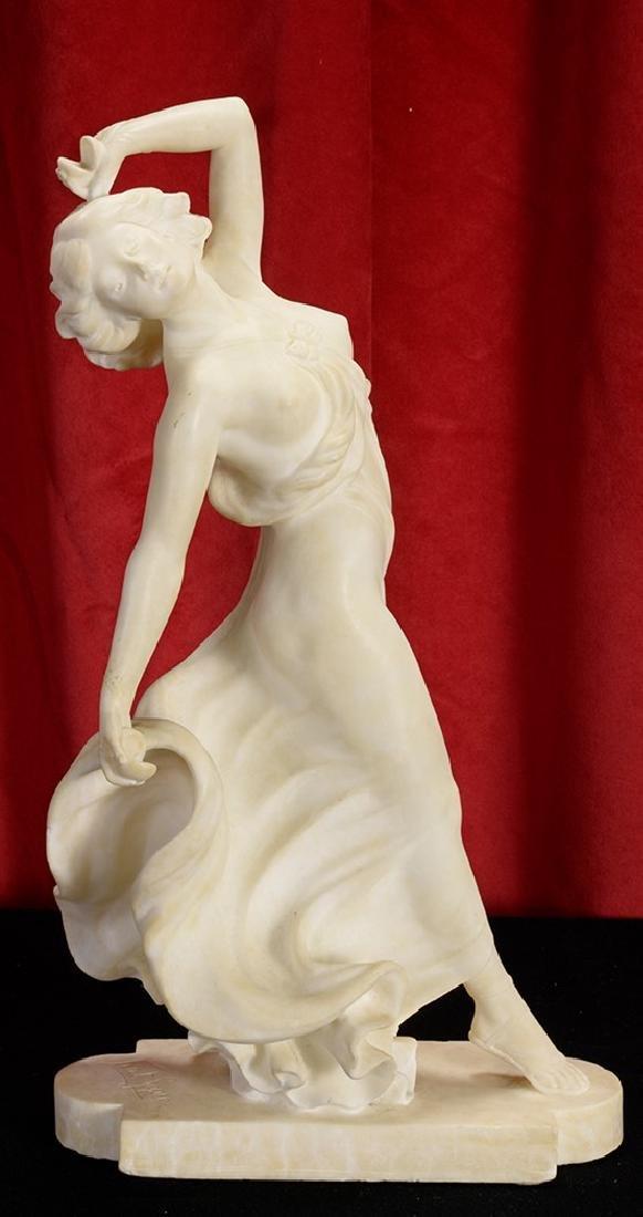 ErnstSeger (1888-1955) Alabaster Female