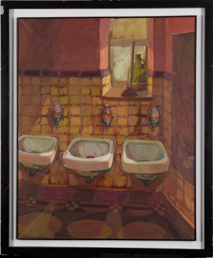 """""""Three Sinks"""" Mariana Edna Volz (1930-2003)"""
