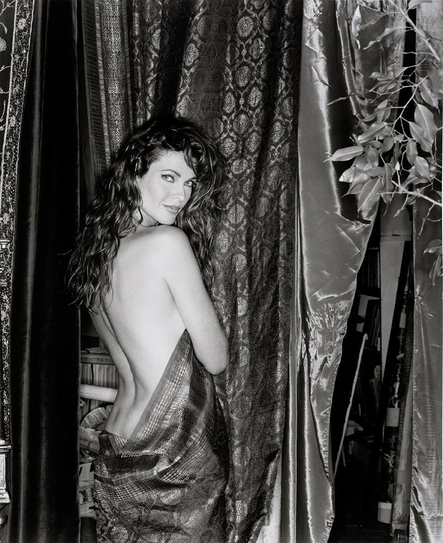 Antonio Guccione Photograph of Carol Alt, 1992