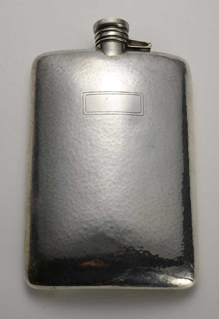 Antique Silver Flask 1920's