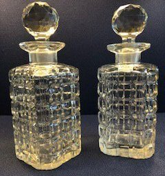 Two Crystal Glasses