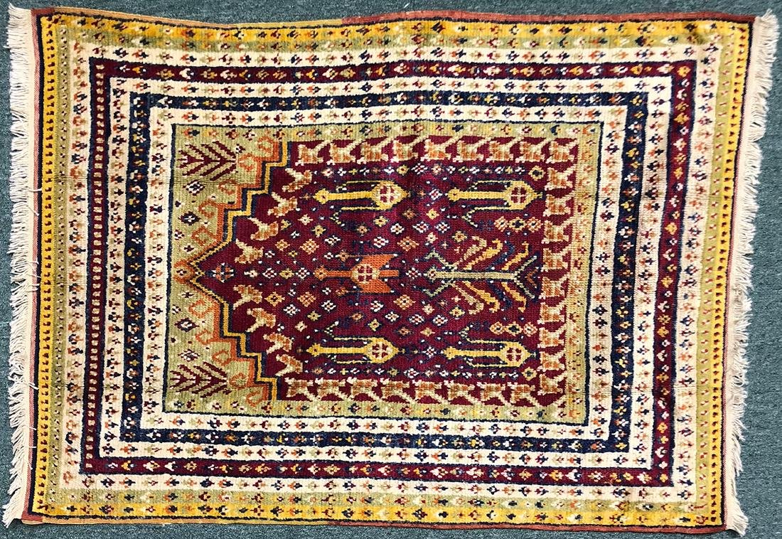 "Turkish Yurok Carpet 57"" x 41.25"""