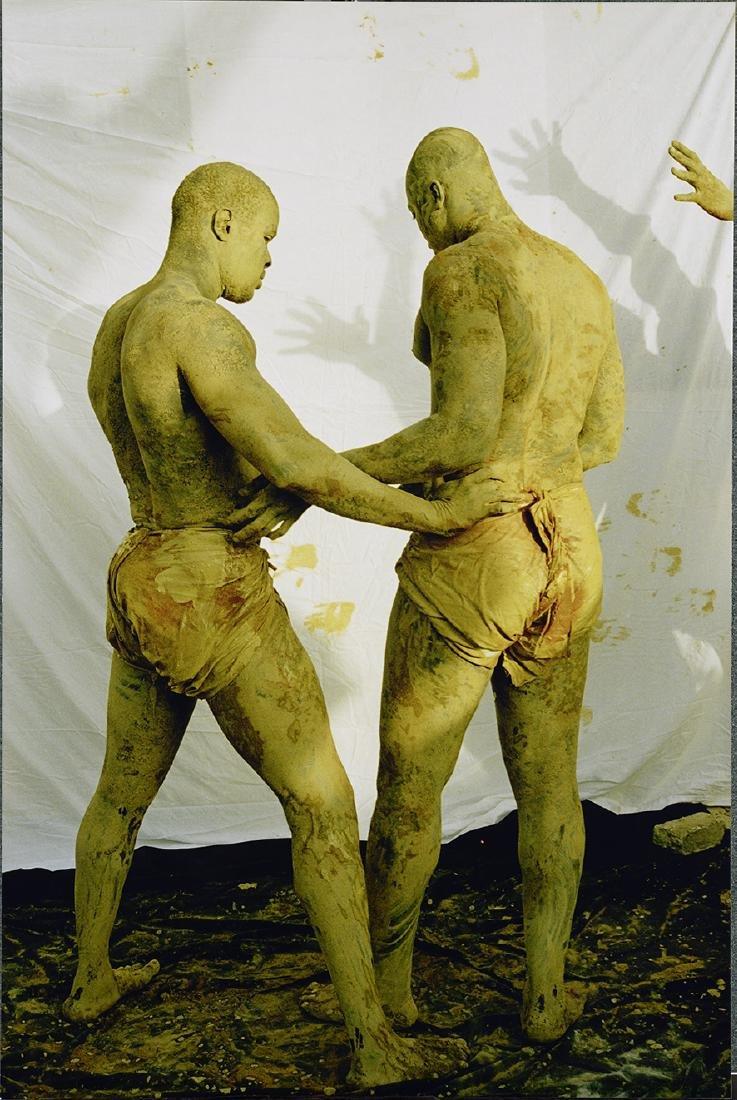 "Ousmane Ndiaye Dago, 2006, Both Sides 60 x 40"" Male"