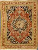 Antique Tabriz Haji Jalili Carpet (2.5' X 1.75')