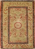 Antique Tabriz Haji Jalili Carpet (2.5' x 1.5')