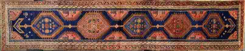 Vintage Iranian Malayer Carpet (15' x 3')