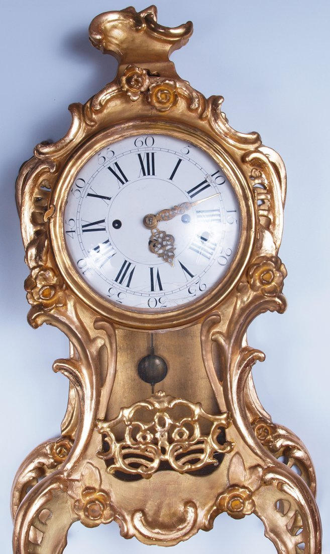 18th Century French Louis XVI Wall Clock - 2