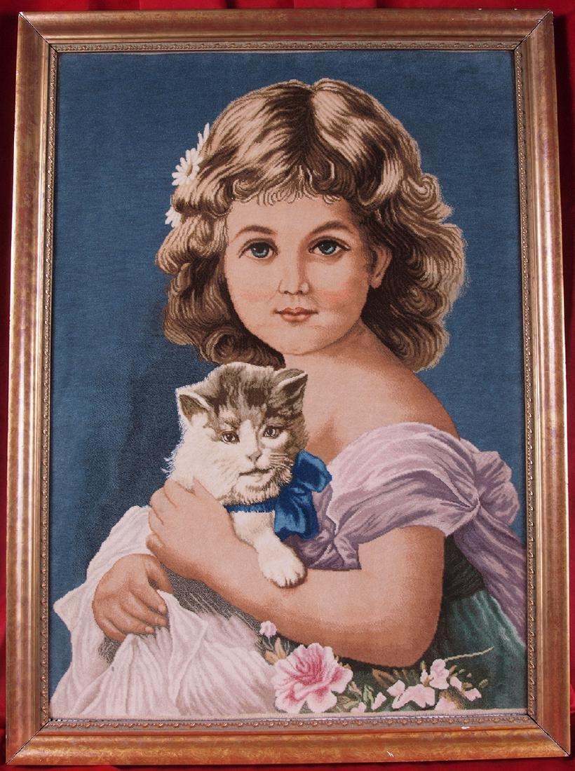 Hand Knotted Carpet Portrait