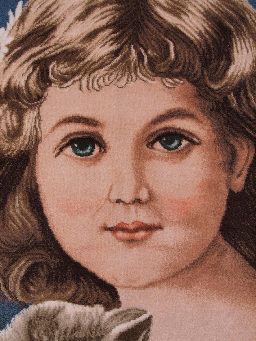 Hand Knotted Carpet Portrait - 3
