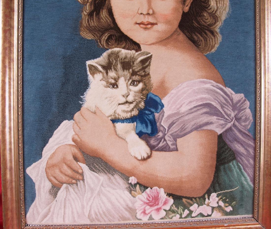 Hand Knotted Carpet Portrait - 4