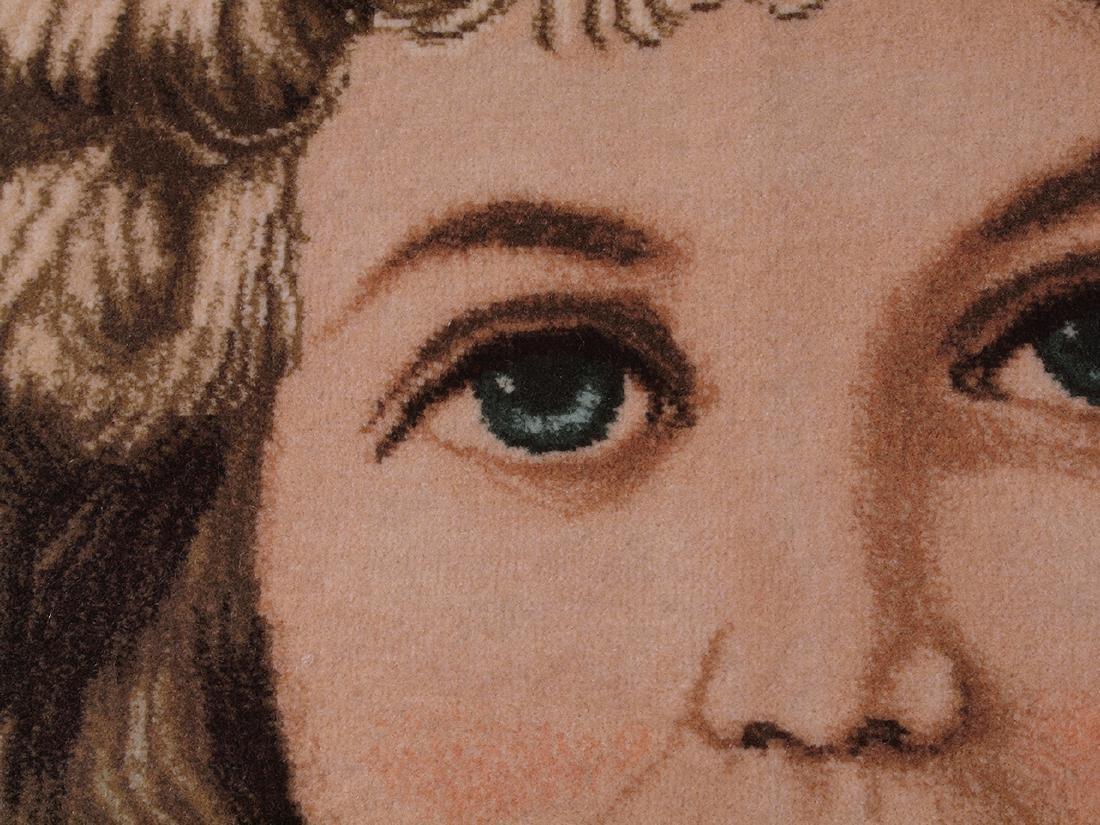 Hand Knotted Carpet Portrait - 5