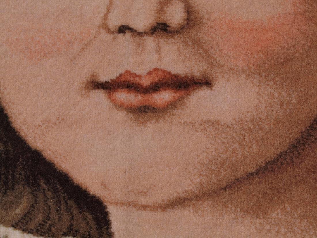 Hand Knotted Carpet Portrait - 6