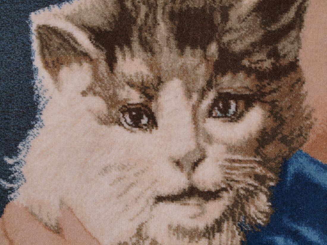 Hand Knotted Carpet Portrait - 7
