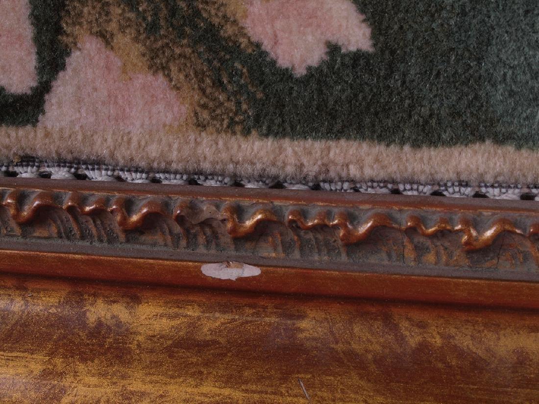 Hand Knotted Carpet Portrait - 8