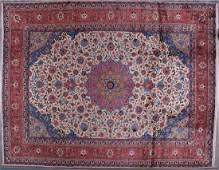 Vintage Persian Sarouk Carpet 12.75 x 9.75 FT