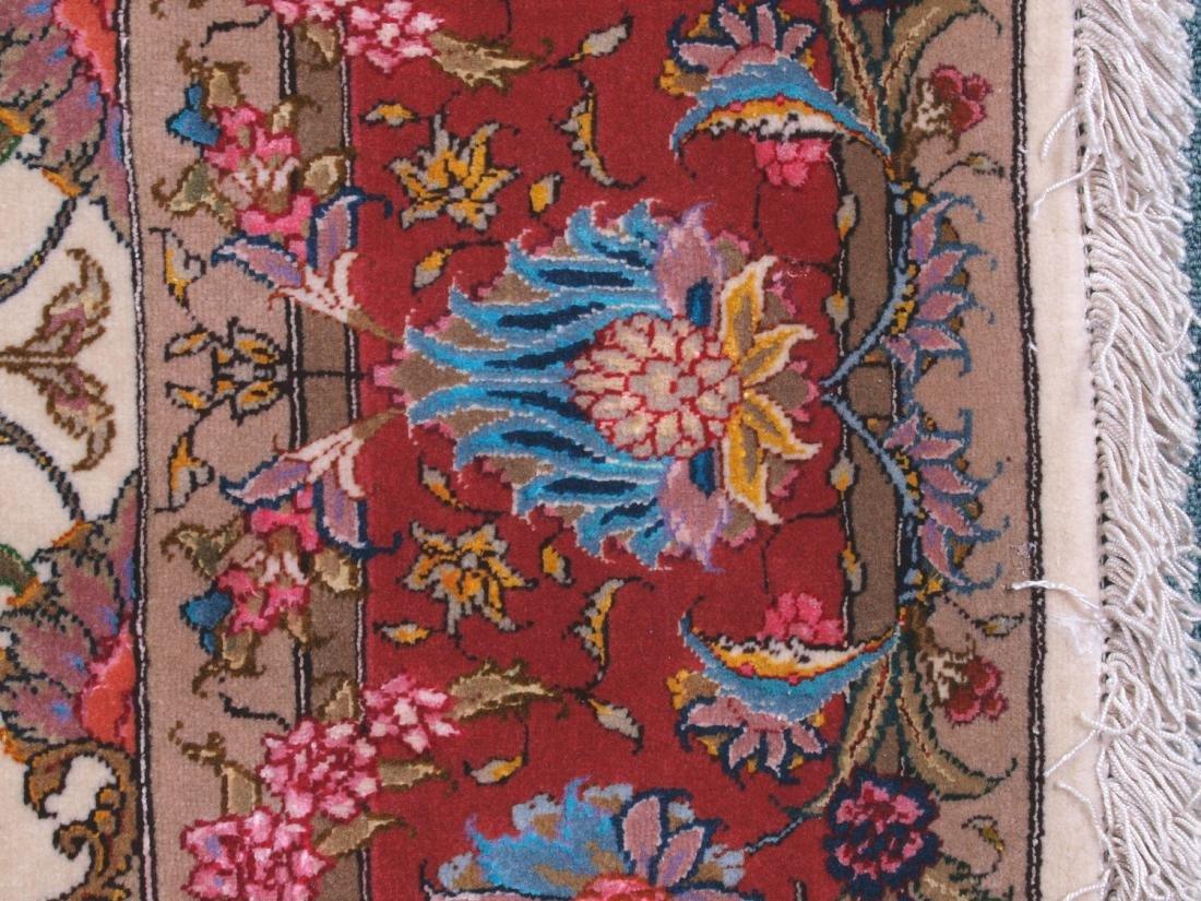 Persian 60 Raj Tabriz Carpet 7 x 4.75 FT - 10