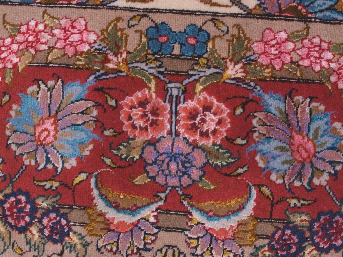 Persian 60 Raj Tabriz Carpet 7 x 4.75 FT - 11