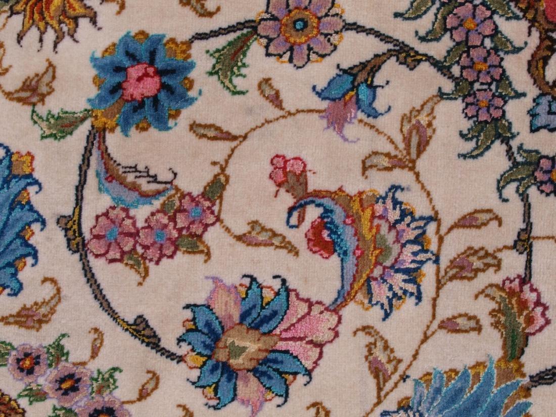 Persian 60 Raj Tabriz Carpet 7 x 4.75 FT - 12
