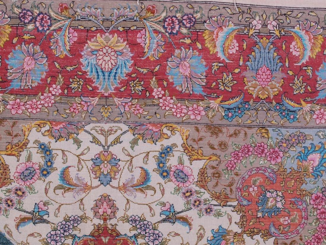 Persian 60 Raj Tabriz Carpet 7 x 4.75 FT - 13