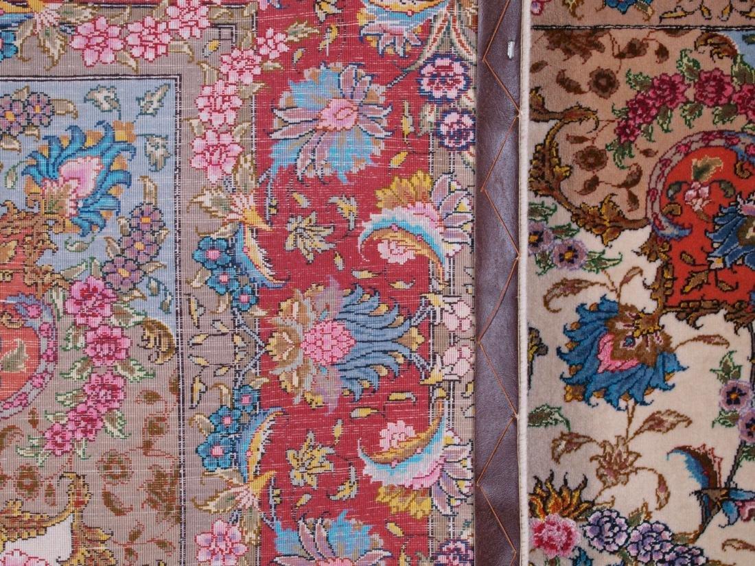Persian 60 Raj Tabriz Carpet 7 x 4.75 FT - 2