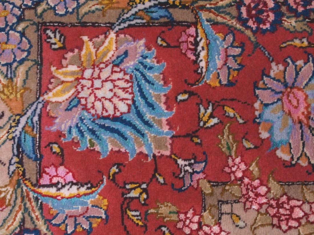 Persian 60 Raj Tabriz Carpet 7 x 4.75 FT - 4