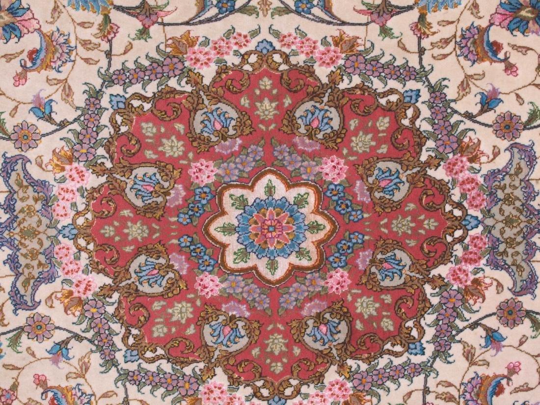 Persian 60 Raj Tabriz Carpet 7 x 4.75 FT - 6