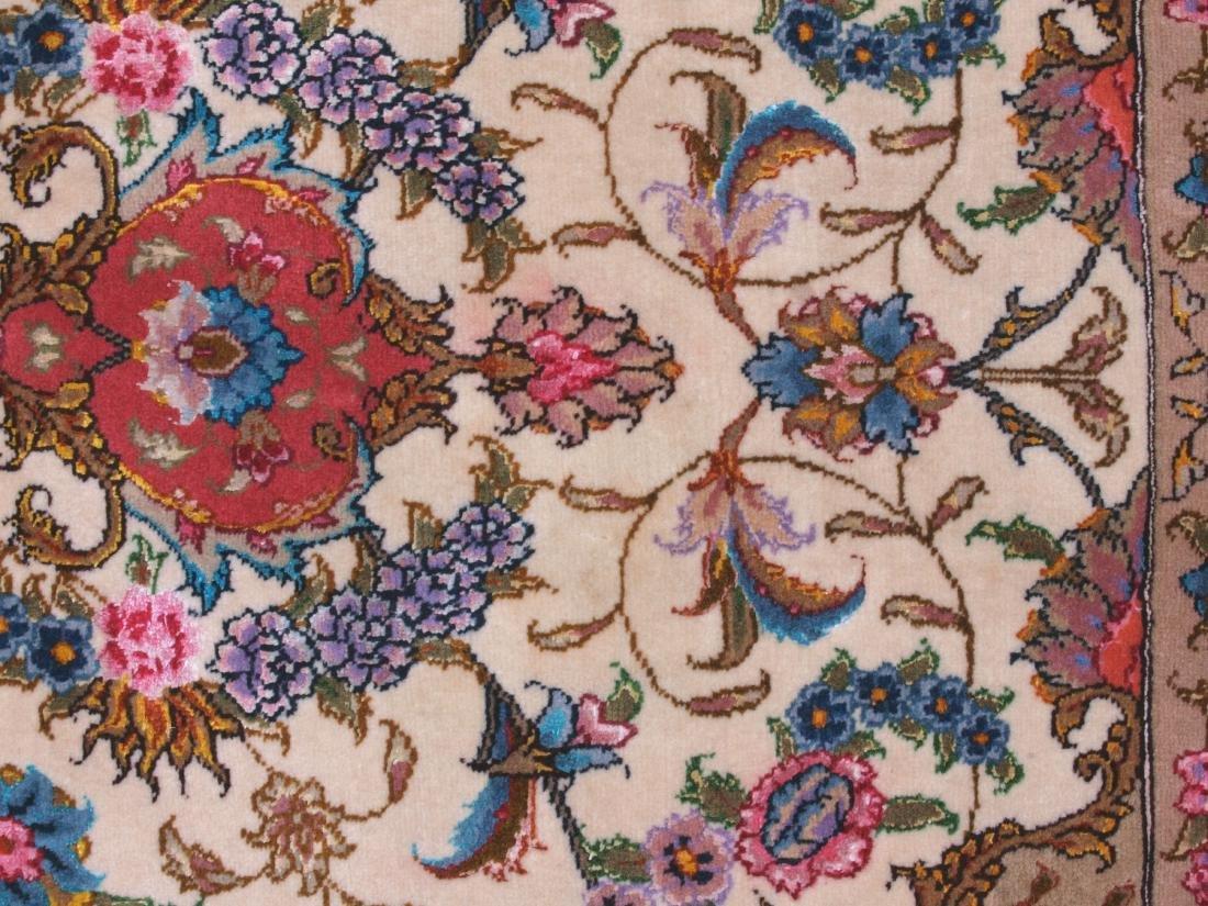 Persian 60 Raj Tabriz Carpet 7 x 4.75 FT - 9