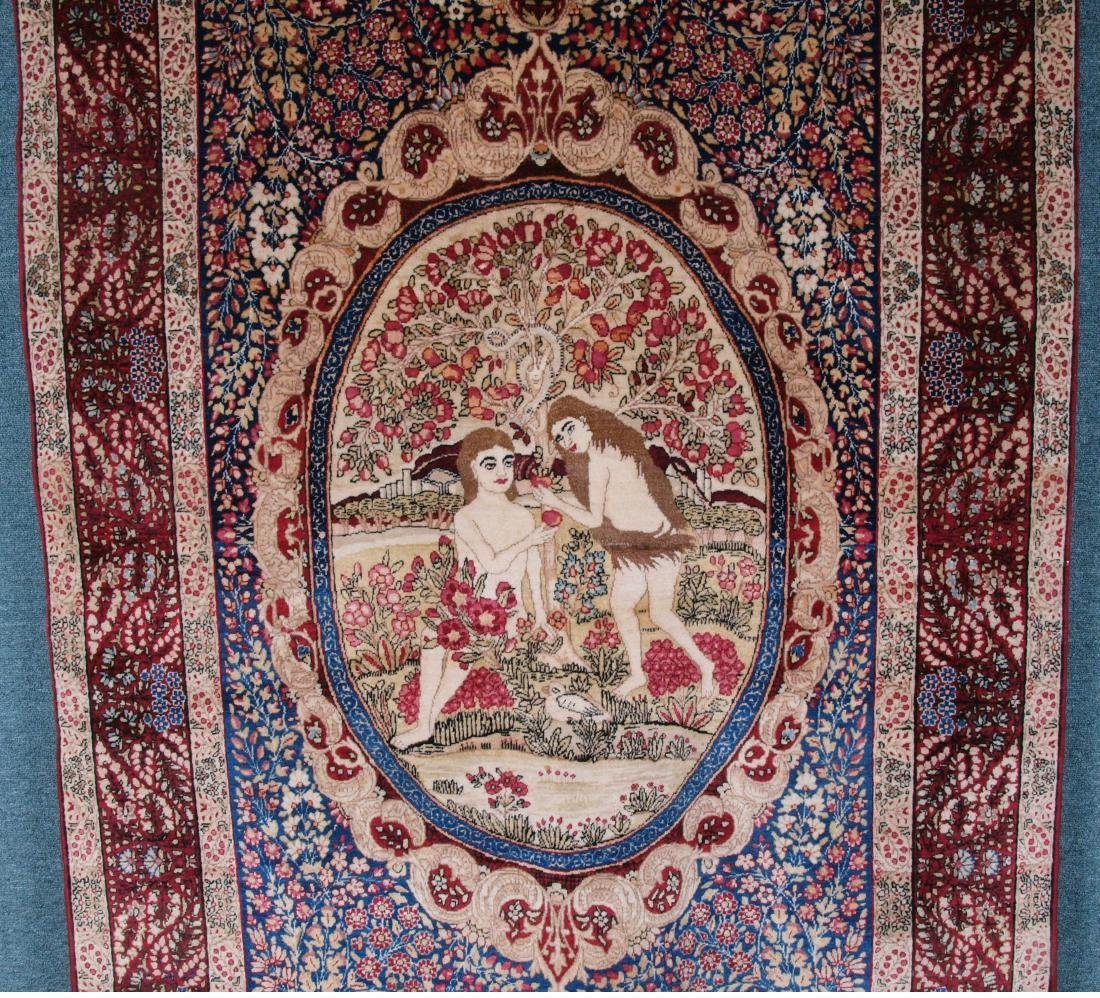 Rare Garden of Eden Carpet 7.5 x 4.25 FT - 2