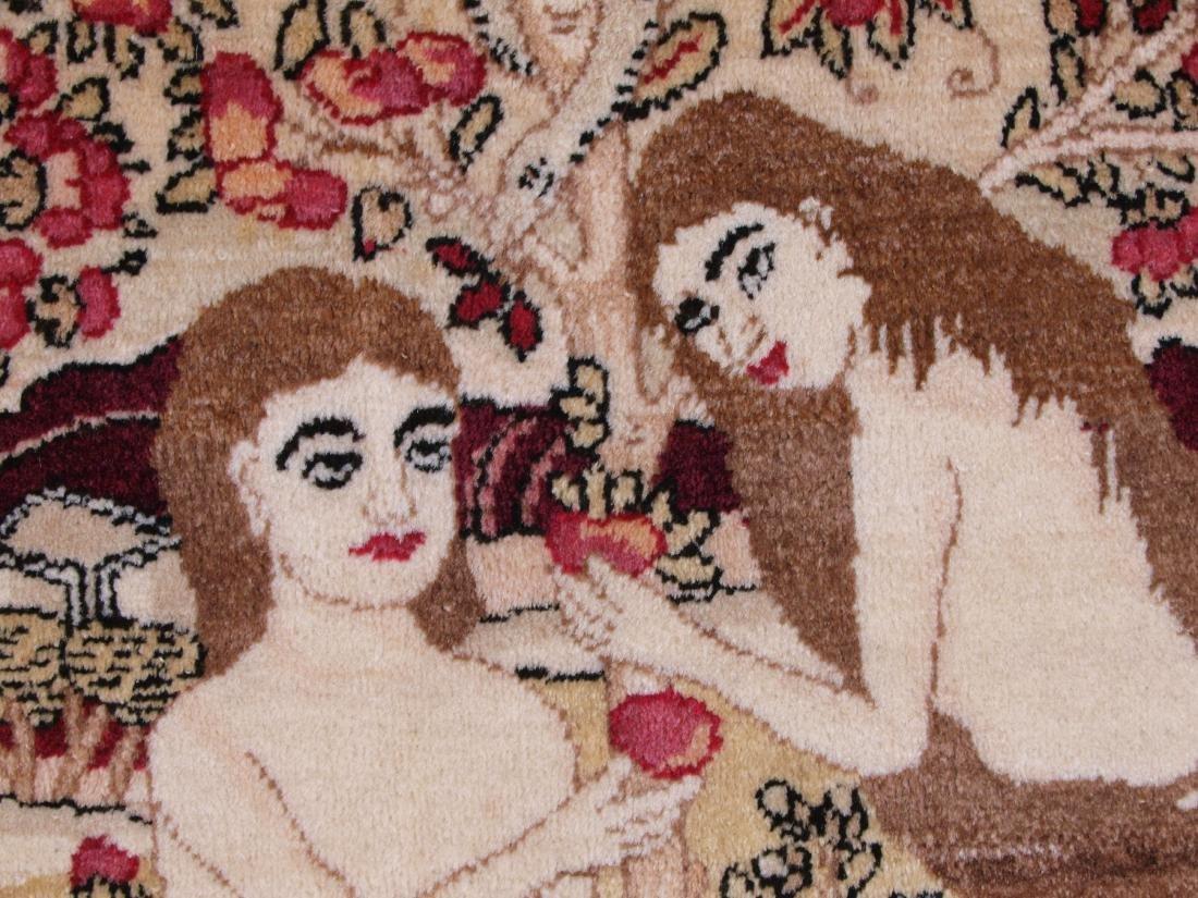 Rare Garden of Eden Carpet 7.5 x 4.25 FT - 5