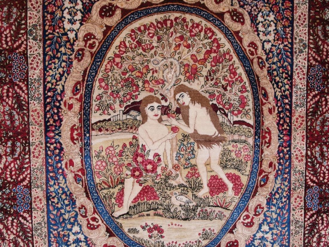 Rare Garden of Eden Carpet 7.5 x 4.25 FT - 7