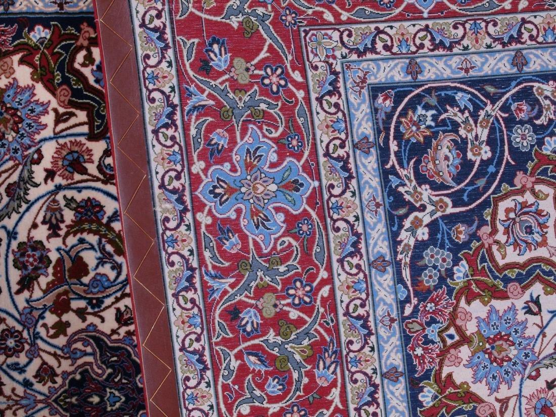 Isfahan Ghaffari Persian Rug 7.75 x 5.25 FT - 2